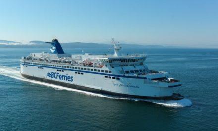 BC Ferries espera recaudar 188 millones de dólares con la emisión de bonos
