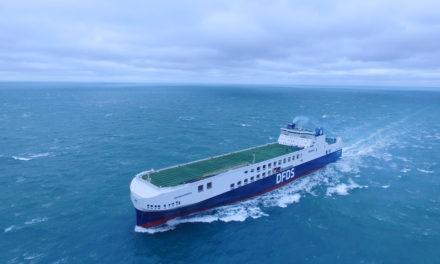 DFDS recibe la entrega de un tercer RoRo construido en China