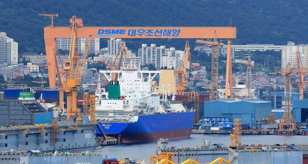 Daewoo Shipbuilding & Marine Engineering gana el pedido de cinco grandes portacontenedores