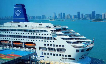 El primer barco de Astro Ocean Cruise es nombrado en China