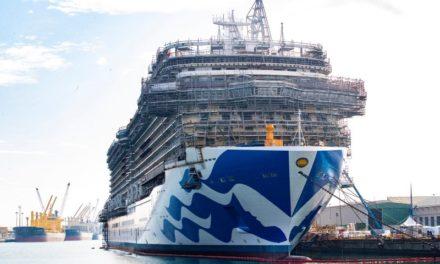 Fincantieri: Primer corte de acero para el crucero de nueva generación de Cunard