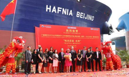 Hafnia: Entrega del cuarto buque LR1 recién construido
