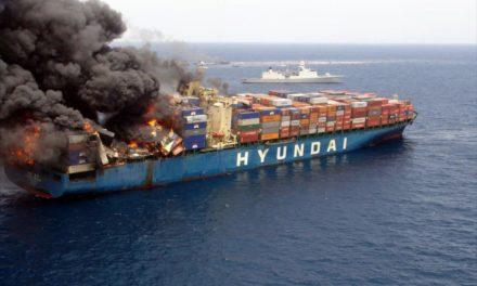 IUMI: Es hora de abordar la cuestión del incendio de los contenedores