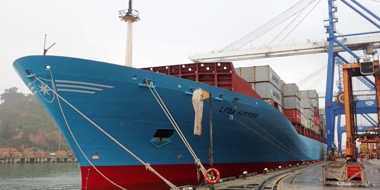 Leda Maersk encallada por no usar herramientas electrónicas de navegación