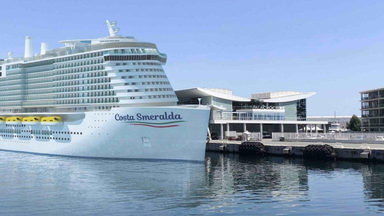 Meyer Turku retrasa de nuevo la entrega de Costa Esmeralda