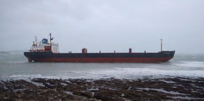 Noruega multa a Wirana por el incidente con la barcaza Tide Carrier en 2017