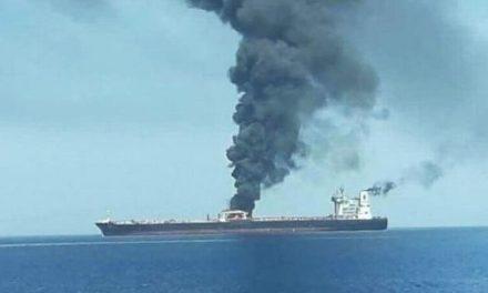Sospechan de un ataque con misiles contra un petrolero iraní
