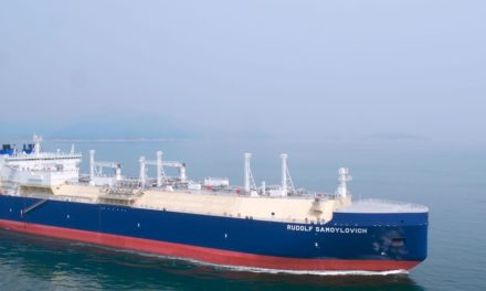 DSME: Entrega del primer buque de GNL con  sistema de lubricación por aire