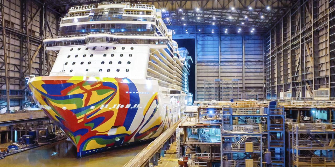 El nuevo barco de Norwegian Cruise Line fue bautizado en Miami