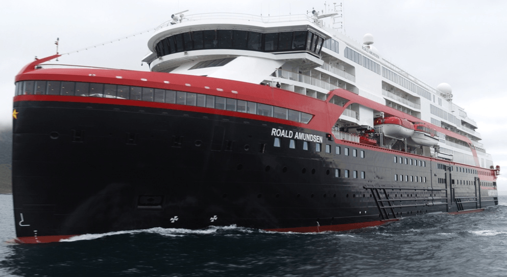 El primer crucero eléctrico del mundo es nombrado en la Antártida