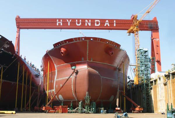 Hyundai Heavy presenta una solicitud en la UE para un acuerdo sobre DSME