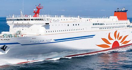 MOL encargará los primeros ferries alimentados con GNL en Japón