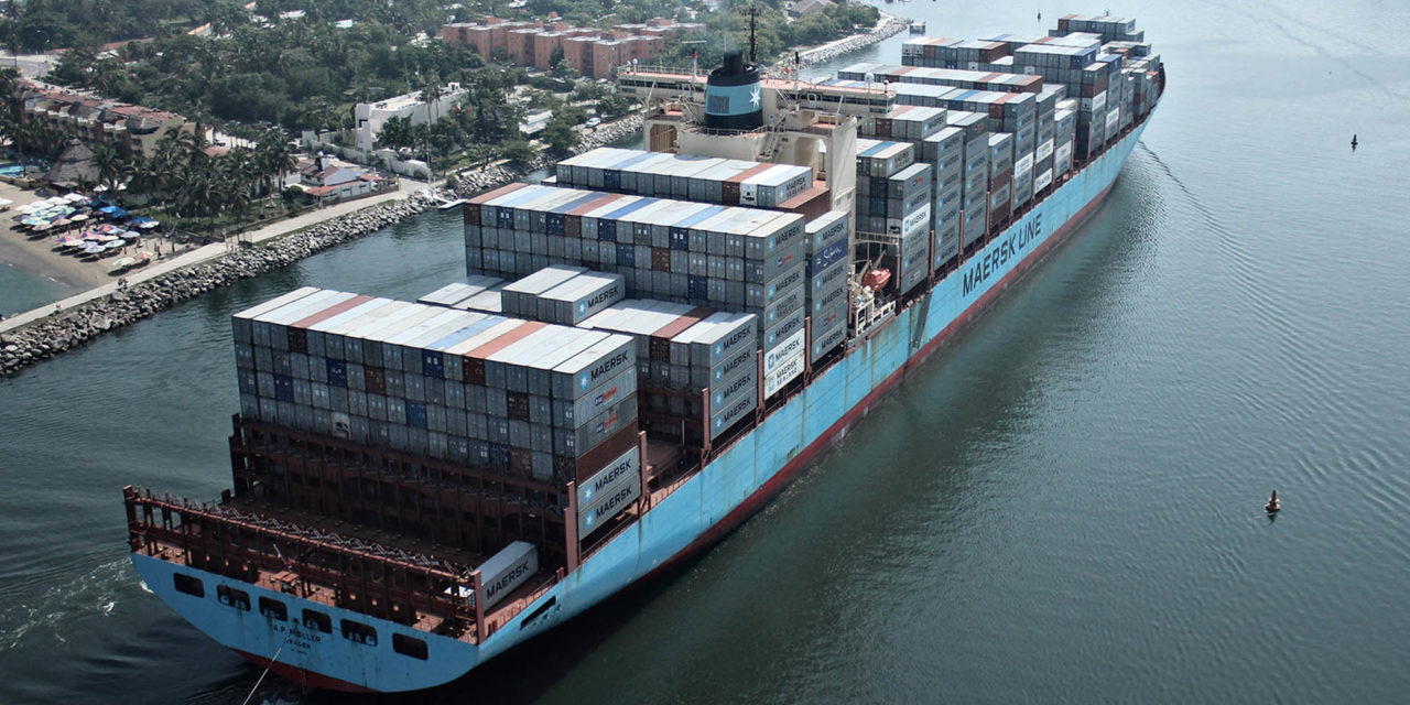 Maersk instalará un sistema piloto de baterías en un buque de 4.500 TEU