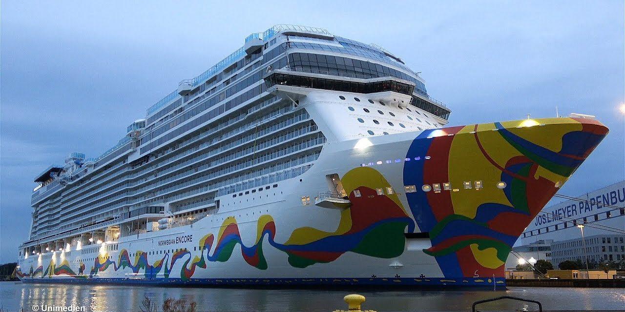 Norwegian Cruise Line recibe la entrega de su barco más nuevo