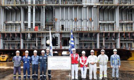 Samsung Heavy coloca quilla para el buque LNG de GasLog