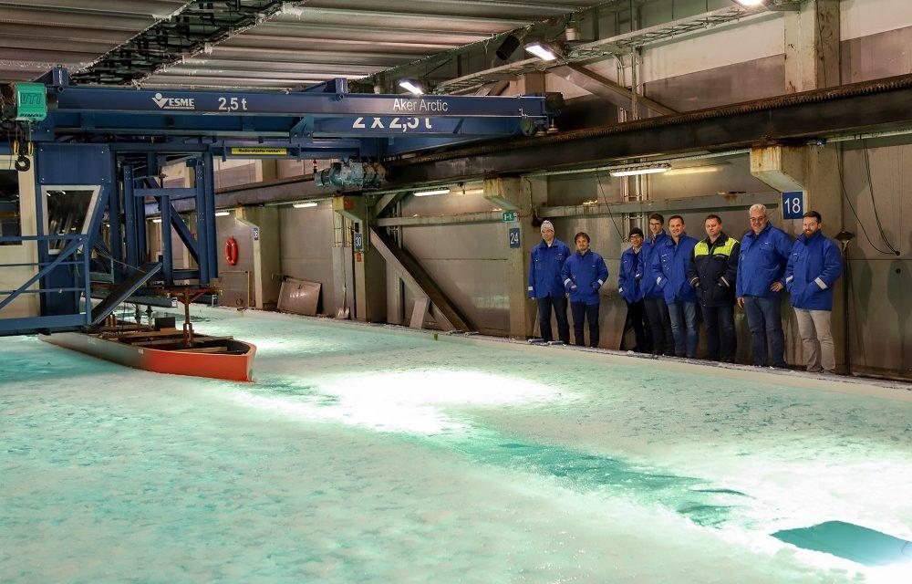 Seaborn marca otro hito en la construcción de su nuevo barco de expedición