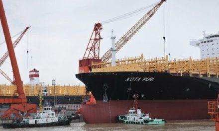 Yangzijiang obtiene 11 pedidos en el segundo semestre de 2019