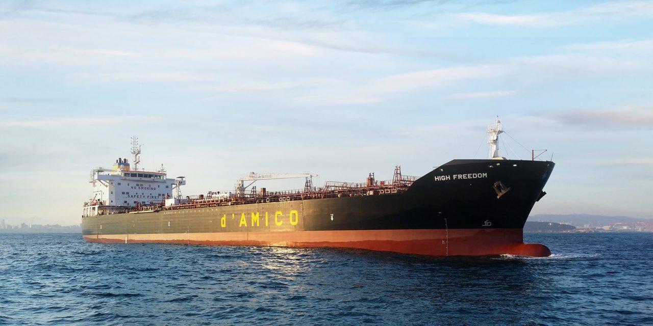 d'Amico reduce pérdidas y mejora la recuperación del mercado de petroleros