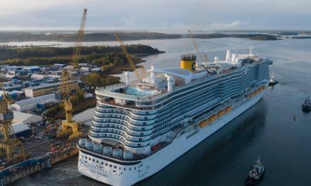 Costa Smeralda realiza su primera carga de GNL en el puerto de Barcelona