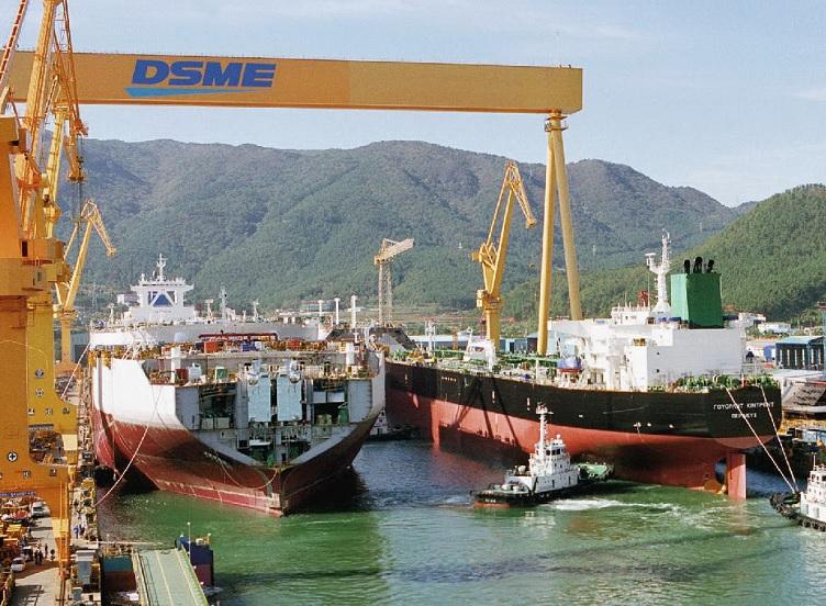 DSME obtiene un pedido para la construcción de tres nuevos buques
