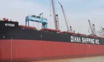 Diana Shipping firma contrato de fletamento para buque Kamsarmax