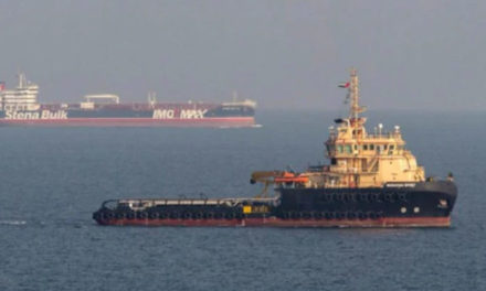 Liberan tripulación secuestrada del petrolero Duke