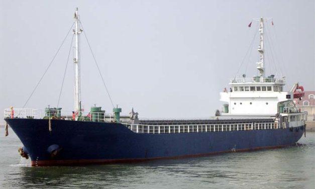 Tres muertos y tres desaparecidos después de que buque de carga se hundiera