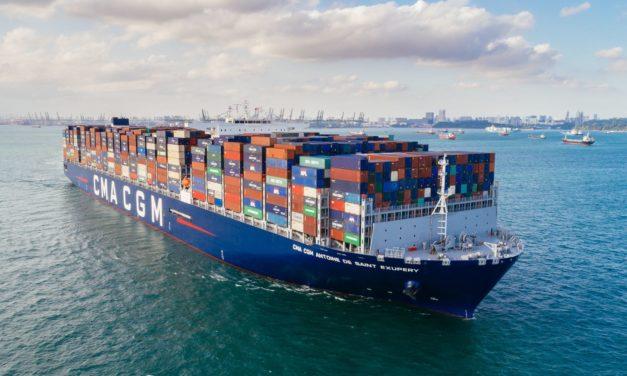 Las autoridades españolas manejan un caso de coronavirus a bordo del buque CMA CGM