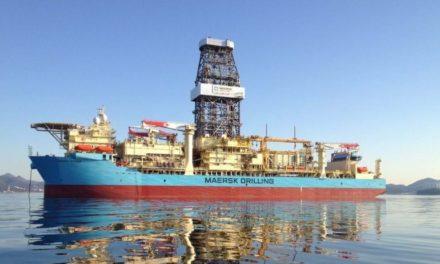 Contrato de perforación de Maersk Drilling fue interrumpido por Tullow Ghana