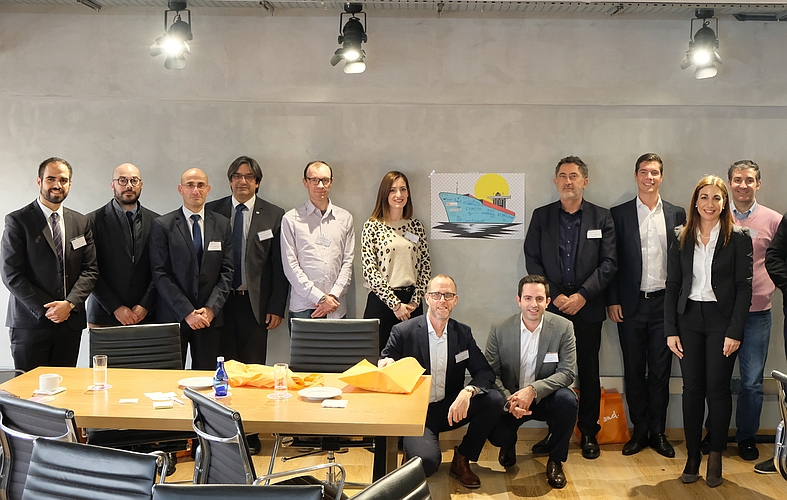 """Desarrollos y desafíos marítimos a nivel mundial fueron los temas centrales del taller  """"Accelerating Innovation For Sustainable Growth"""""""