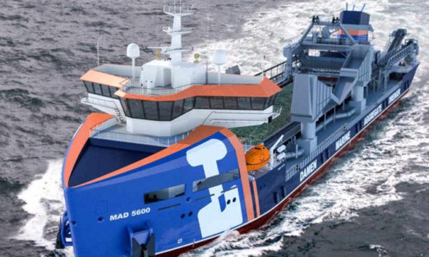 Damen gana el contrato de tres sistemas de gobierno y timón para tres nuevas dragas TSHD de Van Oord