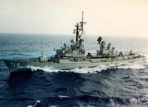 El barco destructor Delbert D. Black supera las pruebas de aceptación