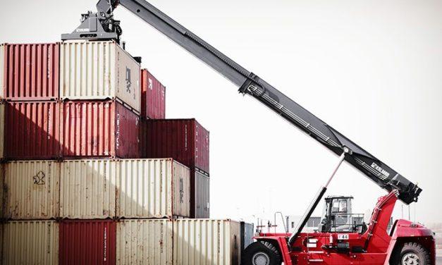 Kalmar suministrará al operador belga el reachstacker Super Gloria