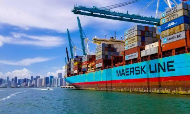 Maersk establece un seguro de carga en España