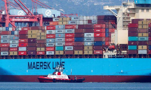 Maersk suspende la rotación de tripulación hasta el 14 de abril