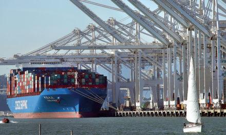 Oakland es el más reciente puerto de Estados Unidos que ha sufrido una caída en las importaciones