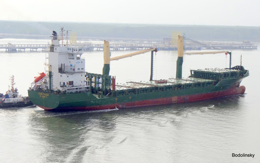 Piratas secuestran a siete tripulantes del buque MSC Talia F en el Golfo de Guinea