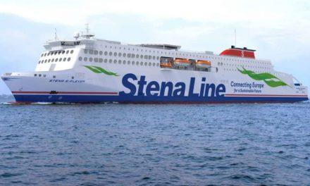 Stena Edda se convierte en el mayor ferry de la historia que navegara en la ruta de Belfast a Liverpool