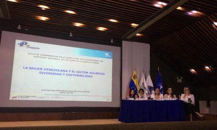 Conferencia «La mujer Venezolana y el Sector ACUÁTICO» se celebró con el mayor de los exitos