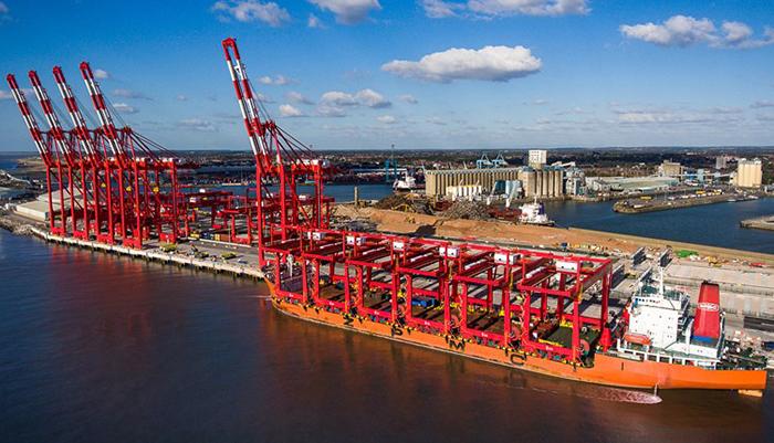 Arribo del buque MSC Federica representa nuevo récord en la terminal Liverpool2