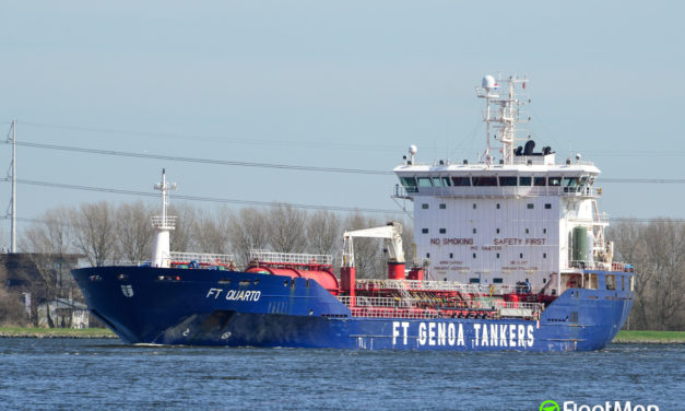Capitán al mando de un barco italiano dio positivo al coronavirus en Amberes