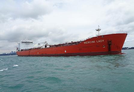 Colonial Navigation deja ir uno de sus viejos buques petroleros
