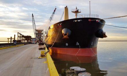 Compañia Alemana Minship prueba el biocombustible en un buque de carga