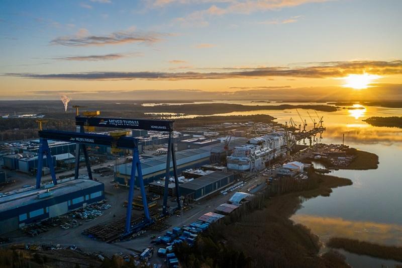 El constructor naval de cruceros Meyer Turku advierte de despidos