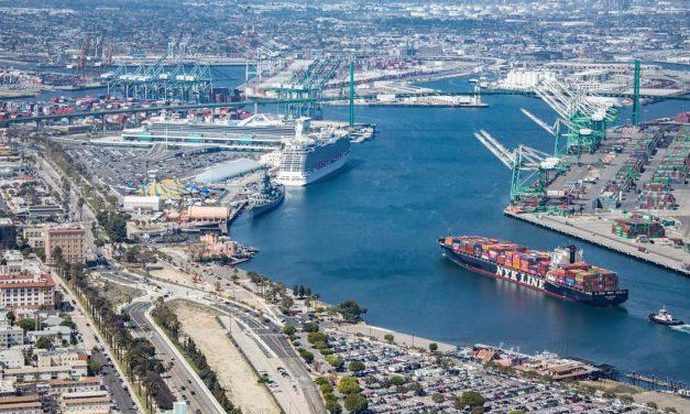 El puerto de Los Ángeles sufre un descenso del 30,9% en el volumen de carga