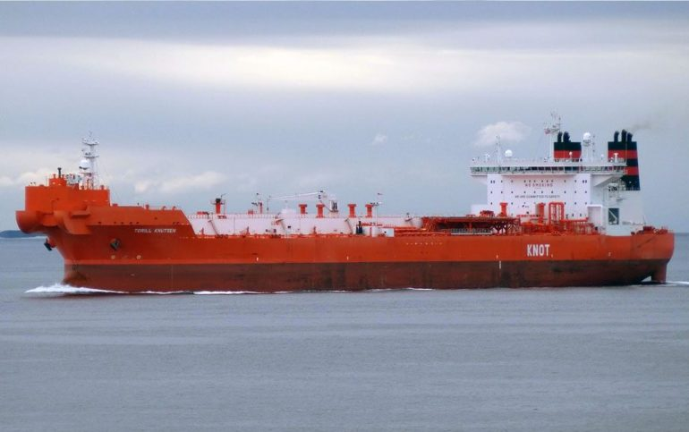 KNOT Offshore Partners amplía el contrato con Eni Trading and Shipping