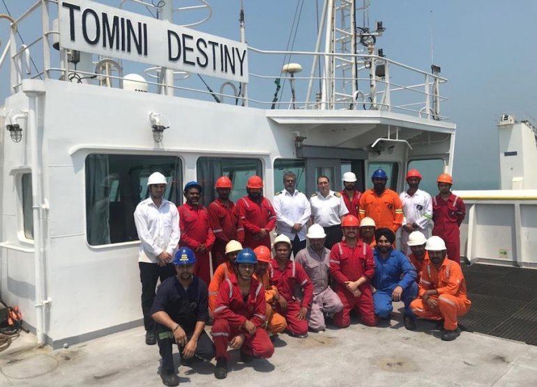 La tripulación del Tomini se niega a descargar la carga en Bangladesh por temor a contraer el coronavirus
