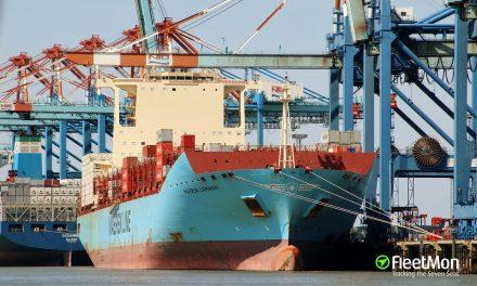 Marinos con síntomas de virus fueron evacuados de un buque portacontenedores en Europa y de un buque tanque en Filipinas