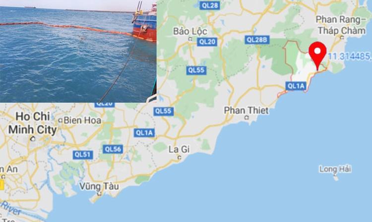 Un buque de carga se hundió en un puerto en Vietnam