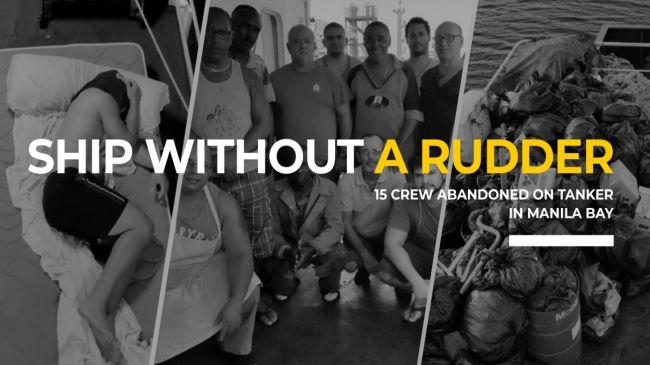 15 marinos abandonados en un buque tanquero de bandera española en la bahía de Manila